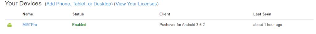 Pushover - настройка уведомлений на unRAID 6.8 3