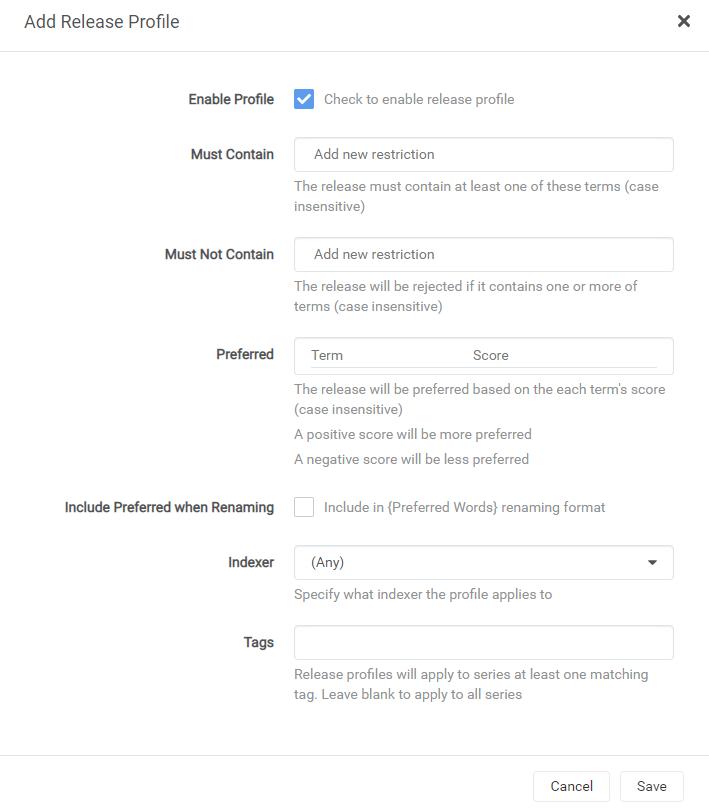 Sonarr – установка плагина для сериалов на unRAID 6.8.3 16