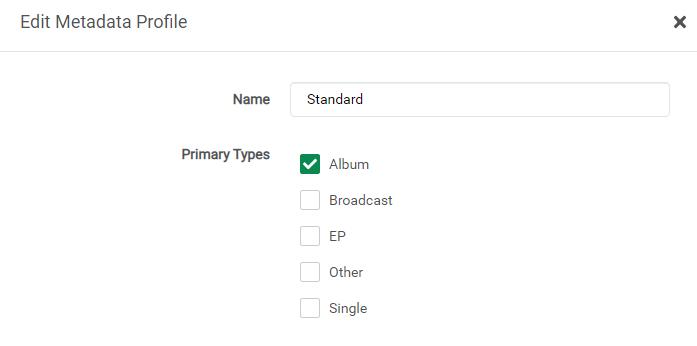 Lidarr – установка плагина для музыки на unRAID 6.8.3 15