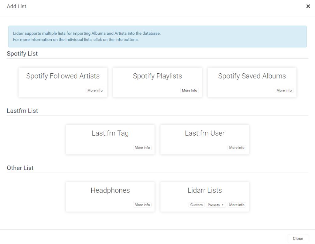 Lidarr – установка плагина для музыки на unRAID 6.8.3 23