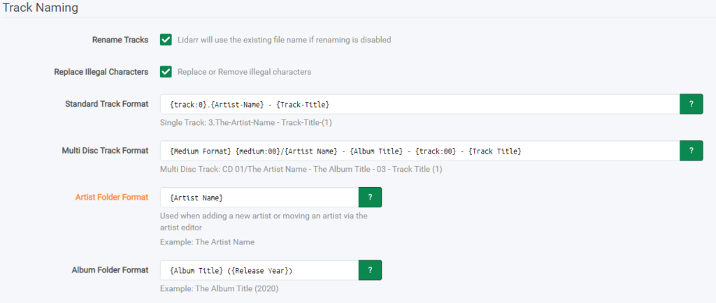 Lidarr – установка плагина для музыки на unRAID 6.8.3 9