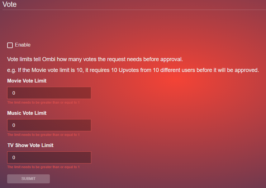 Ombi - личный стол заказов медиа-контента на Unraid 6.8.3 18