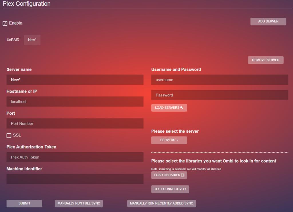 Ombi - личный стол заказов медиа-контента на Unraid 6.8.3 20