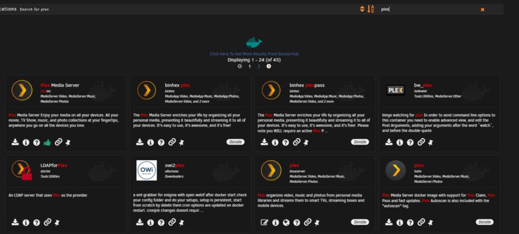 Plex – установка домашнего медиа сервера на Unraid 6.8.3 10