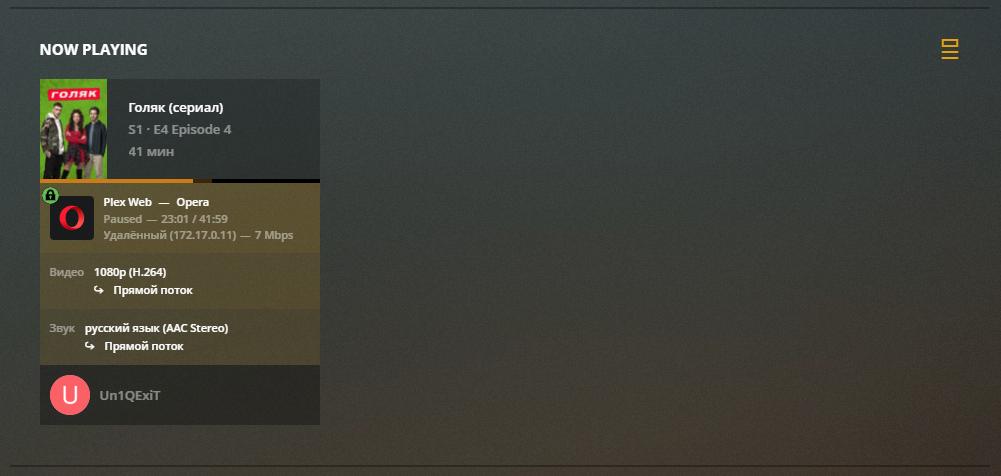 Plex – установка домашнего медиа сервера на Unraid 6.8.3 28