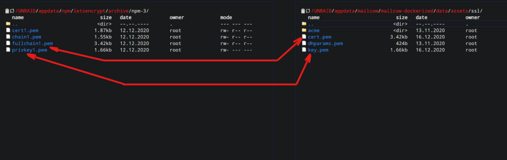 Mailcow - поднимаем свой почтовый сервер на Unraid 6.8.3 28