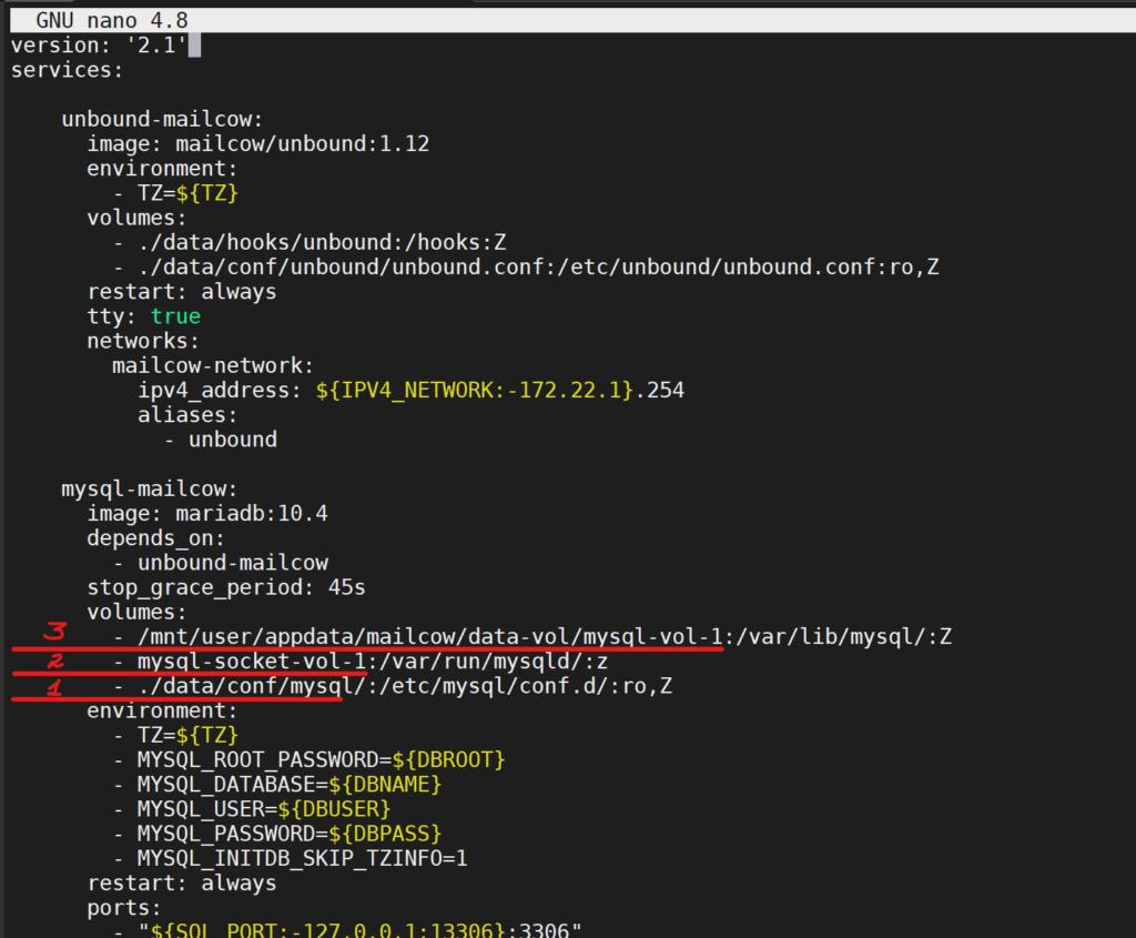 Mailcow - поднимаем свой почтовый сервер на Unraid 6.8.3 7