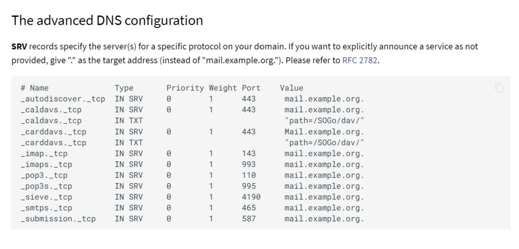 Mailcow - поднимаем свой почтовый сервер на Unraid 6.8.3 29