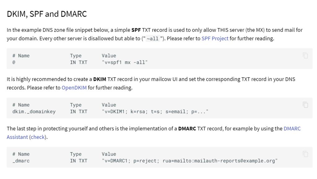Mailcow - поднимаем свой почтовый сервер на Unraid 6.8.3 32