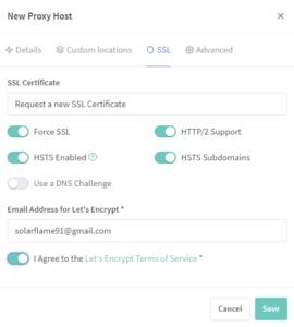Nextcloud – создаем свое личное облако на unRAID 6.8.3 20