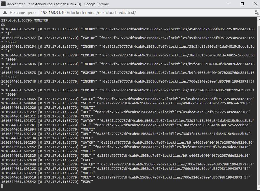 Nextcloud – создаем свое личное облако на unRAID 6.8.3 25